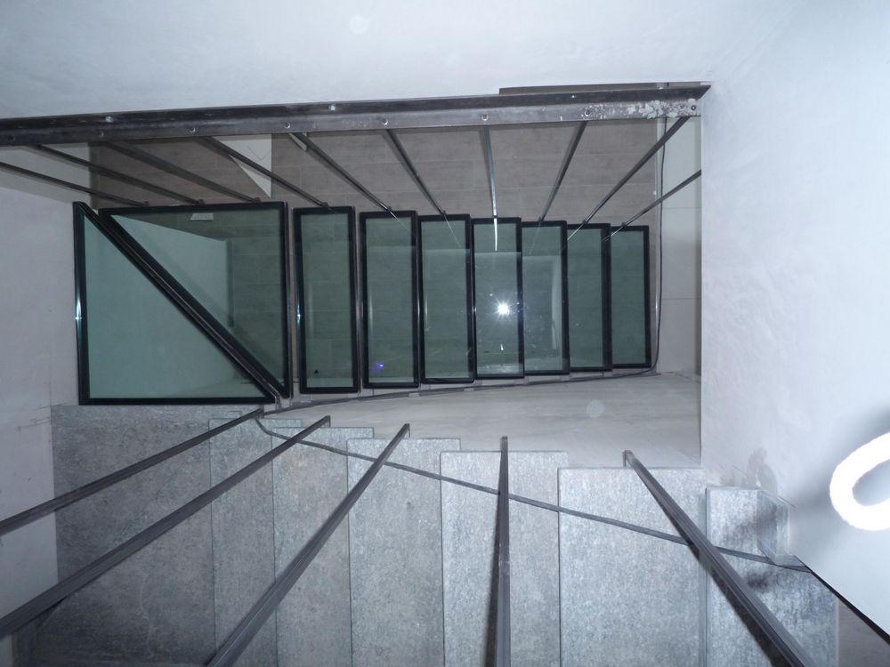 Scale e protezioni per scala gianina vetri torino